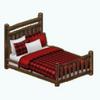 CozyChaletDecor - Lodge Bed