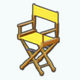 IndieFilmFestival - Set Chair