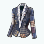 PatchworkSpin - Ruffled Patched Jacket