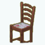 EnglishRoseSpin - Rose Seat Dining Chair middle
