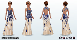 Bridal - Maid of Honor Gown