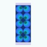 CafeRaffle - Retro Four Leaf Wallpaper