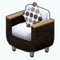 PatioDecor - Wicker Patio Chair
