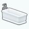 HamptonsHideawayDecor - Smooth Bevel Bathtub
