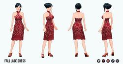 FallRunway - Fall Lace Dress