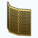 MoulinRougeDecor - Gold Room Divider