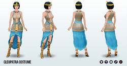 TheCursedCrafter - Cleopatra Costume