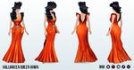 HalloweenSpirits - Halloween Queen Gown