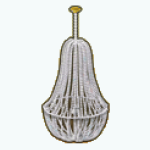 GirlOfPearlDecor - Pearl Chandelier
