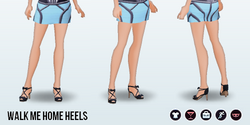 FirstDate - Walk Me Home Heels