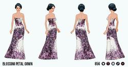 CherryBlossom - Blossom Petal Gown