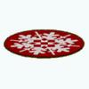 ChristmasDecor - Snowflake Rug