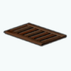 BathroomOasisDecor - Wooden Bath Mat