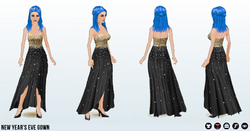 HolidayParty - New Years Eve Gown
