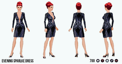 OdeToVersace - Evening Sparkle Dress