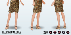 AccessorySpin - Leopard Wedges