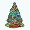 HollyDaysSpin - Ombre Christmas Tree