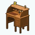 Career - Antique Rolltop Desk