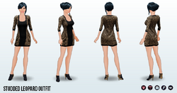 NewYearNewYou - Studded Leopard Outfit