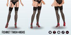 FemmeFatale - Fishnet Thigh-Highs
