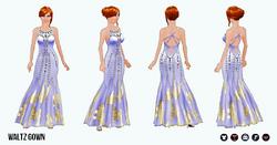 BallroomClothing - Waltz Gown