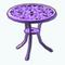 PurplePatioDecor - Lilac Bistro Table