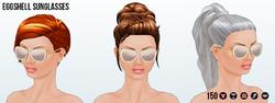 FeteEnBlanc - Eggshell Sunglasses