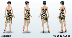 RoaringTwentiesSpin - Anita Dress
