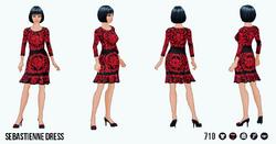 TheVault - Sebastienne Dress