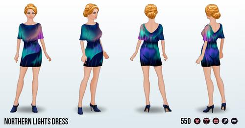 WinterCruise - Northern Lights Dress