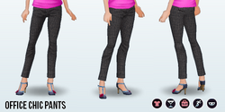 PoshProfessional - Office Chic Pants