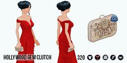 HollywoodGlamour - Hollywood Gem Clutch
