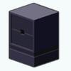 Decor - Small Black Cabinet