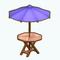 PatioDecor - Patio Table