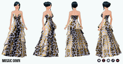 Heiress - Mosaic Gown