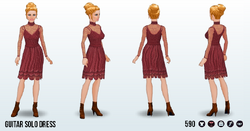 LoveSong - Guitar Solo Dress
