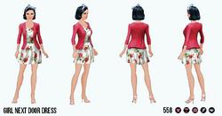 GirlNextDoorSpin - Girl Next Door Dress