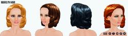 HollywoodGlamour - Marilyn Hair