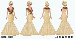HollywoodGlamour - Damsel Gown