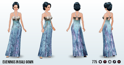 DestinationBaliSpin - Evenings in Bali Gown