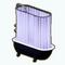 BathroomRemodelDecor - Black Clawfoot Tub
