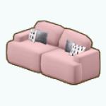PastelPoetryDecor - Blushing Sofa