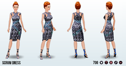 GameDesigner - Scrum Dress