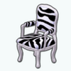 ZebraDecor - Zebra Chair