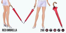 AprilShowers - Red Umbrella