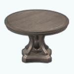 ElegantDiningDecor - Round Ornate Dining Table