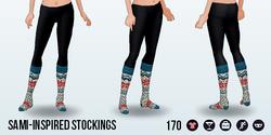NordicNoelSpin - Sami-Inspired Stockings