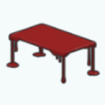 FreakyFunhouseDecor - Bloody Coffee Table