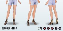 FashionBloggerSpin - Blogger Heels