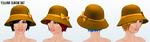 GroundhogDay - Yellow Cloche Hat